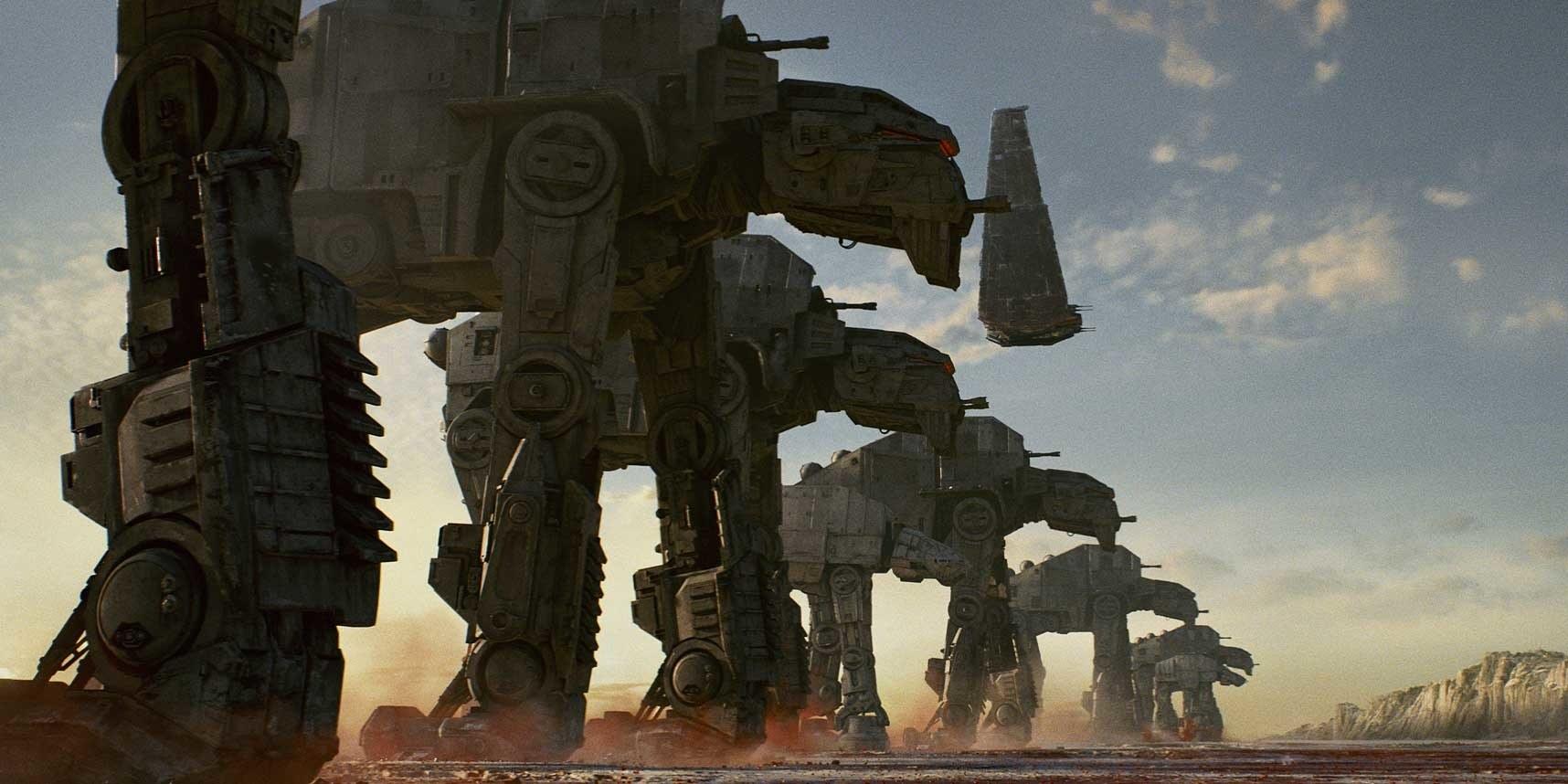Star Wars The Last Jedi AT-M6