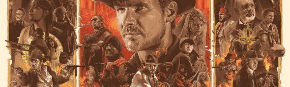 "Artwork – Gabz ""Indiana Jones Trilogy"" Timed Edition"
