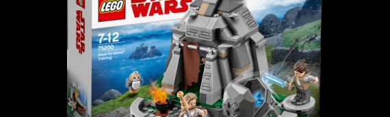 LEGO – Le set Ahch-To Island se dévoile en vidéo