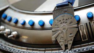 RunDisney half Marathon Medailles