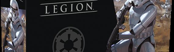 Fantasy Flight Games : Star Wars Legion présente ses stormtroopers