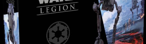 Fantasy Flight Games : Star Wars Légion, le véhicule AT-ST se dévoile