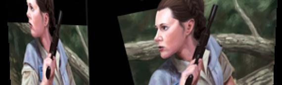 Star Wars Legion : Princess Leia au rapport