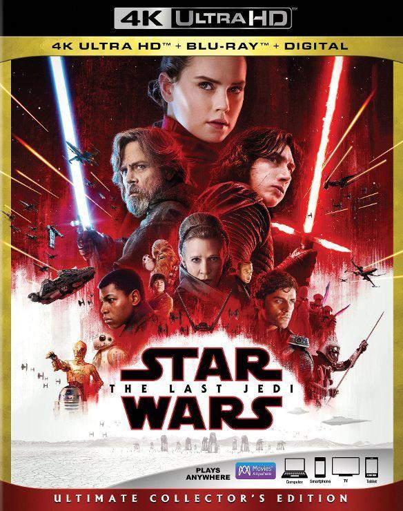 Star Wars The Last Jedi Bluray 4k