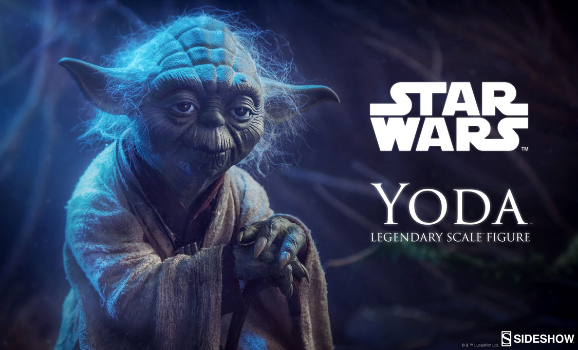 Sideshow Colectibles Yoda Legendary Scale Figure