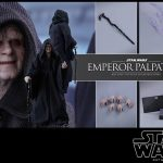 hot Toys Emperor Palaptine Sixth Scale Figure