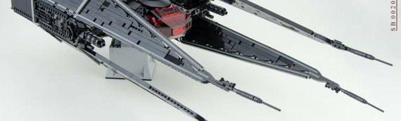 Custom LEGO – TIE Silencer UCS par Mirko Soppelsa