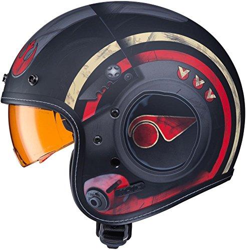 hjc le casque de moto de poe dameron mintinbox. Black Bedroom Furniture Sets. Home Design Ideas