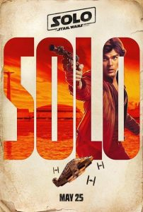 SOLO A Star Wars Story teaser poster character