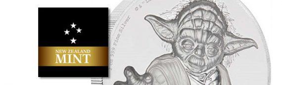 Une nouvelle pièce de monnaie Star Wars, NZ Mint nous présente!
