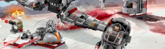 LEGO – Star Wars Defense Of Crait en vidéo