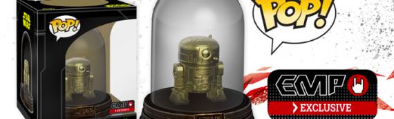Funko POP : R2-D2 (Golden Edition) Exclu EMP en Europe