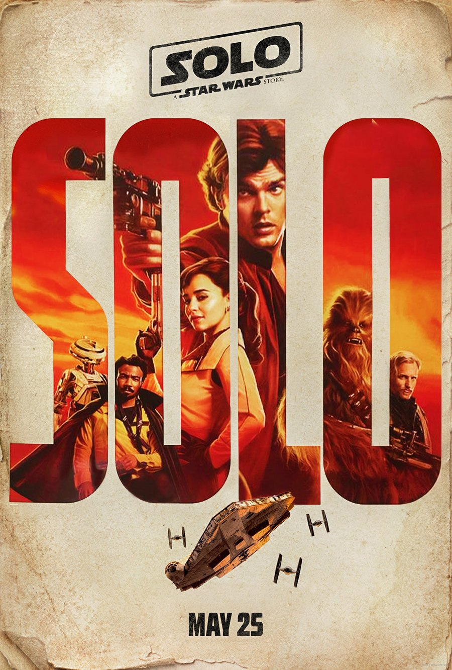 Solo Star Wars Story Movie Poster