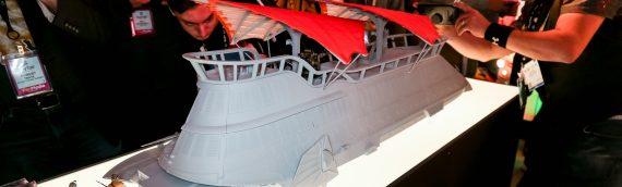 Hasbro – La barge de Jabba au Toy Fair de New York