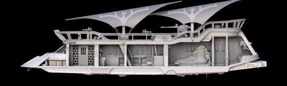 HASBRO – Jabba Sail Barge 3 3/4 Vintage Collection