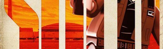 "LEGO – Les posters de ""SOLO – A Star Wars Story"" customs"