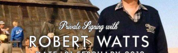Robert Watts : séance de signatures par Elite Autographs