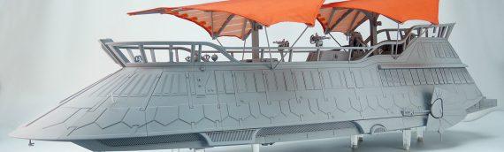 HASBRO – La barge de Jabba en images