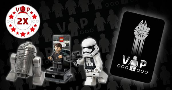 LEGO VIP Black Card Faucon Millenium