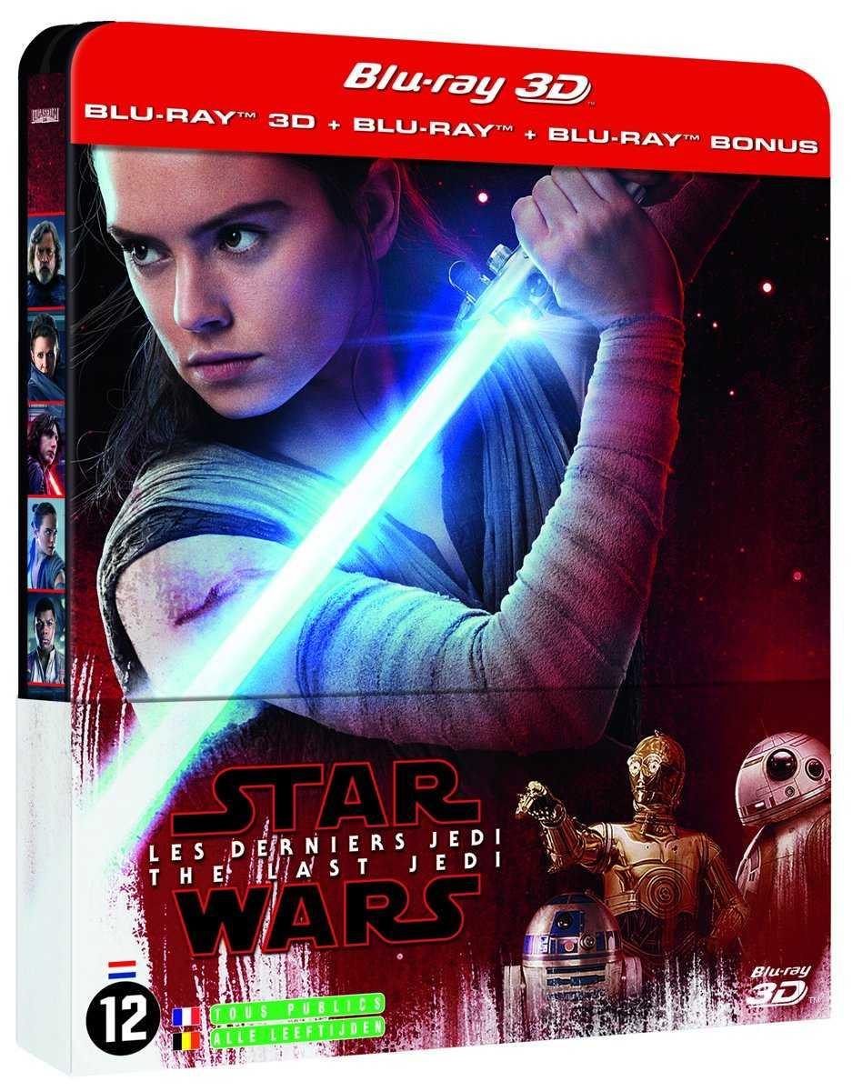 Star Wars the last ejdi bluray 3d