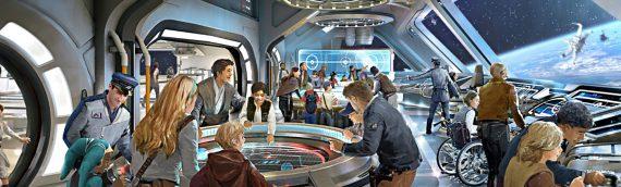 Star Wars Galaxy Edge – Un premier concept art de l'hôtel Disney Star Wars