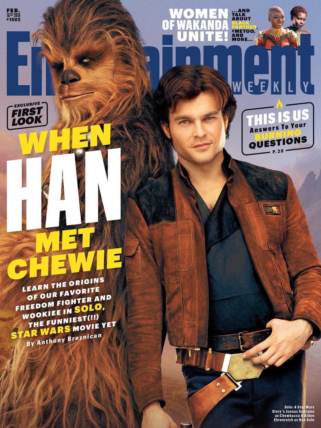 SOLO Star Wars Entertainmenet Weekly