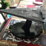 Star Destroyer Dreadnought maquette Verizon