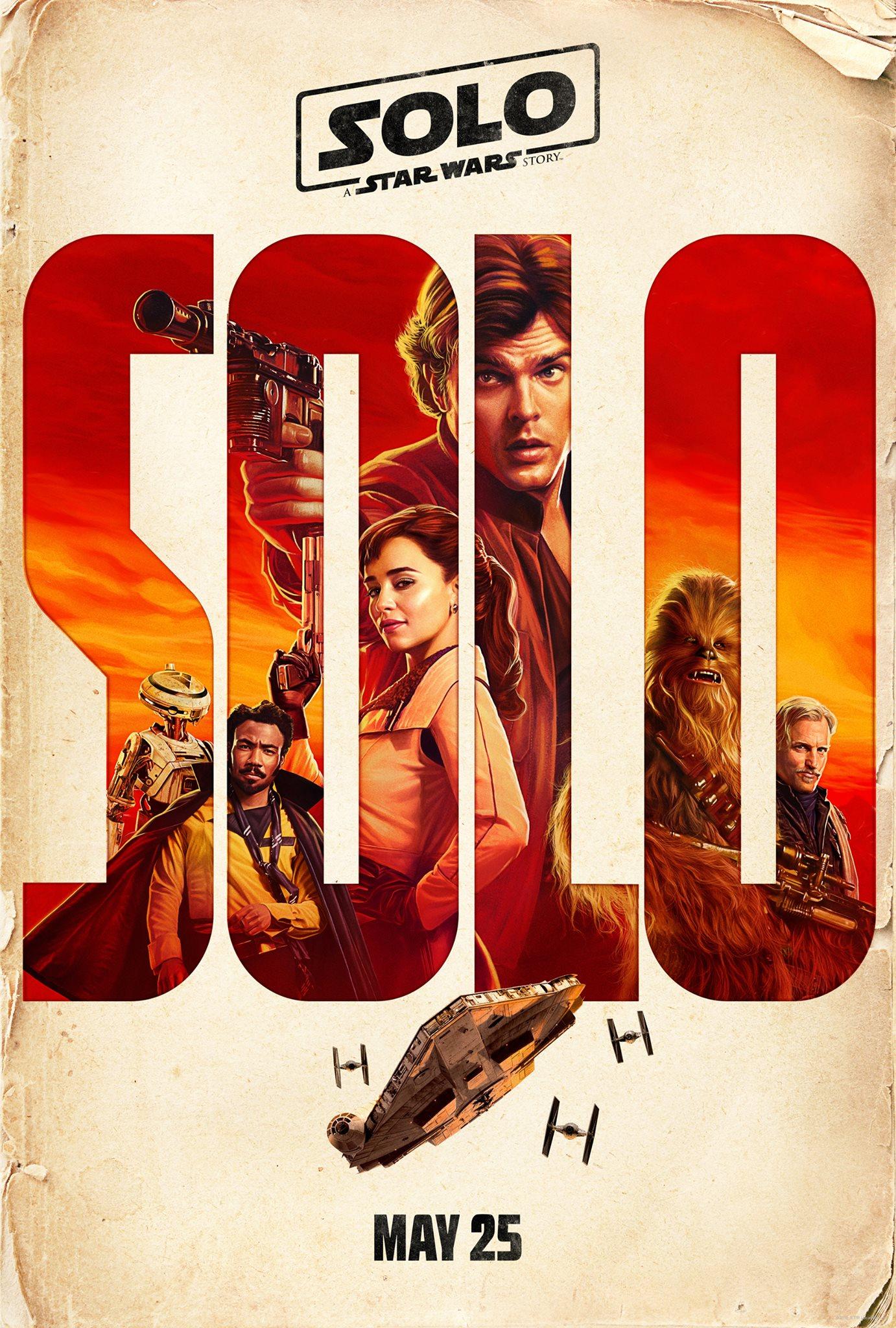 officiel Star Wars Solo poster