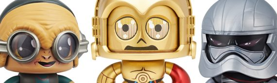 HASBRO – La troisième vague de Mighty Muggs Star Wars