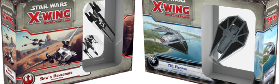 X-Wing Miniature : Deux nouveaux vaisseaux tirés de Rogue One