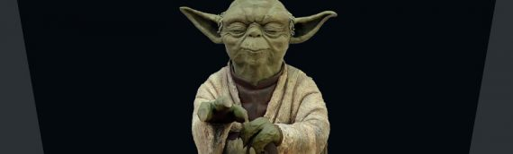 Attakus – Yoda using the Force 1/5ème Statue