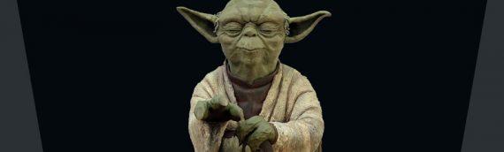 Attakus – Yoda using the Force 1/5ème Statue