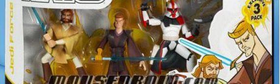 Hasbro : Deux packs Clone Wars DVD – La guerre des clones peut commencer