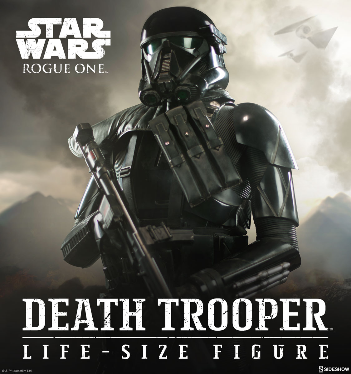 sideshow collectibles death trooper life size