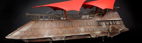 HASBRO – Jabba's Sail Barge Hasblab en images