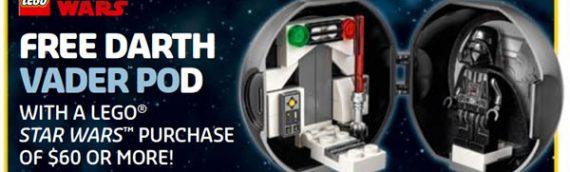 LEGO : Le Darth Vader Battle Pod arrive enfin… Mais pas en Europe