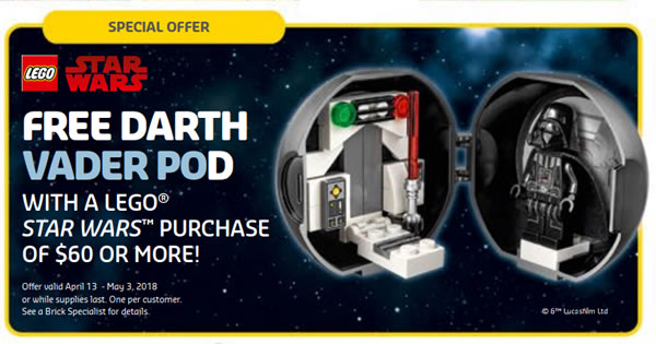Darth Vader Pod LEGO
