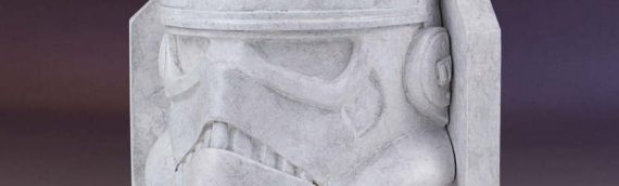 Gentle Giant : Star Wars Stoneworks Faux Marble Bookend