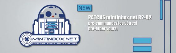 MINTINBOX : Le patch R2-D2 disponible à la vente