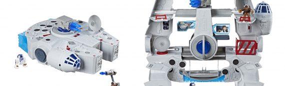 Hasbro : Galactic Heroes, le playset Faucon Millenium