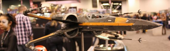 eFX Collectibles – Poe Dameron X-Wing Studio Scale Replica