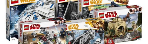 LEGO – Tous les sets Star Wars de la Wave 2 en images