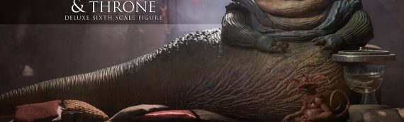 Sideshow Collectibles – Jabba the Hutt and Throne Deluxe Sixth Scale Figure