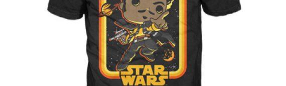 Funko : deux t-shirts Solo : A Star Wars story à venir