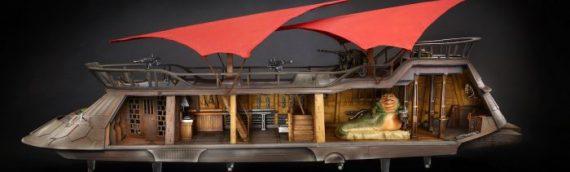 HASBRO – Le projet HasLab Jabba's Sail Barge a réuni plus de 8000 souscriptions