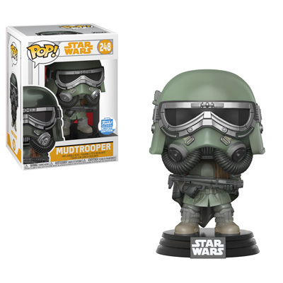 Mudtrooper is a limited edition Funko Shop exclusive!
