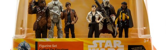 Disney Store – Playset SOLO – A Star Wars Story
