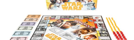Star Wars Monopoly : Han Solo Edition Game