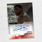 topps the last jedi authographed