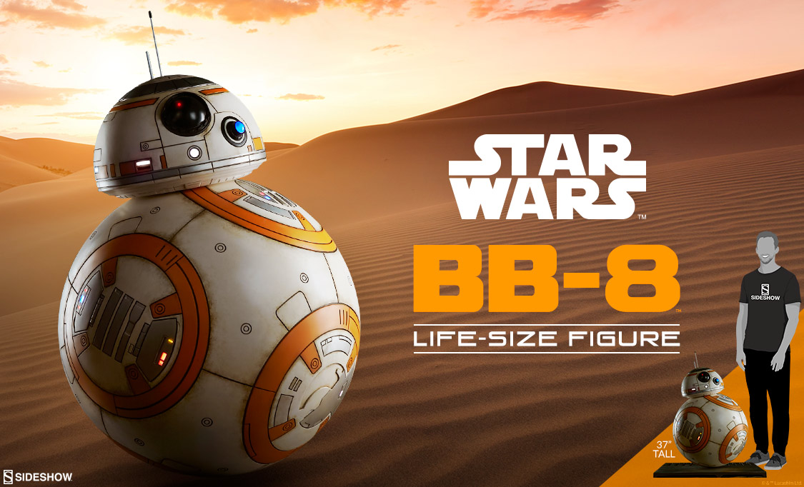 Sideshow Collectibles BB-8 Life Size Figure